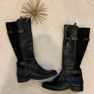 Excellent Condition Cole Haan Black Leather Boots7